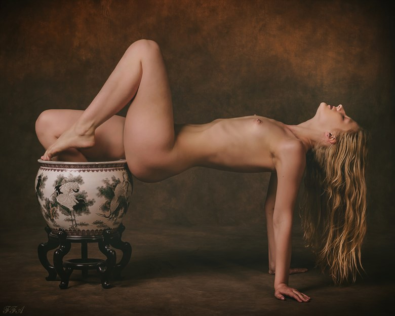 Asian vase Artistic Nude Photo by Photographer Fischer Fine Art