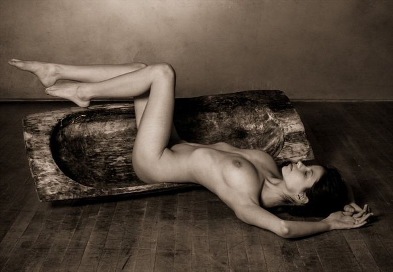 At Peace Artistic Nude Photo by Model S nia