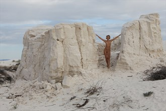At Piece with the Sand Nature Photo by Photographer aube antigua