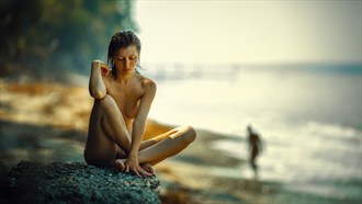 At noon the sea Artistic Nude Photo by Photographer dml
