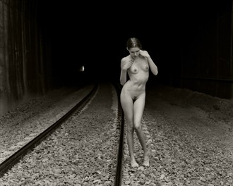 At the end of the tunnel Artistic Nude Photo by Photographer Christopher Ryan