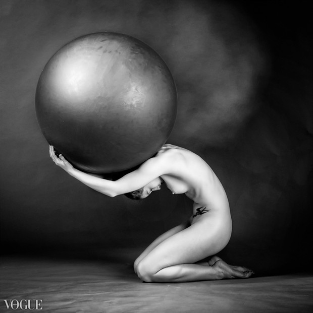 Atlas Artistic Nude Photo by Model MaryCeleste