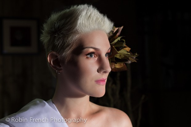 Autumn Maid Close Up Photo by Photographer Robin French