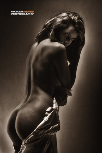 Autumn Sapphire Artistic Nude Photo by Photographer Michael