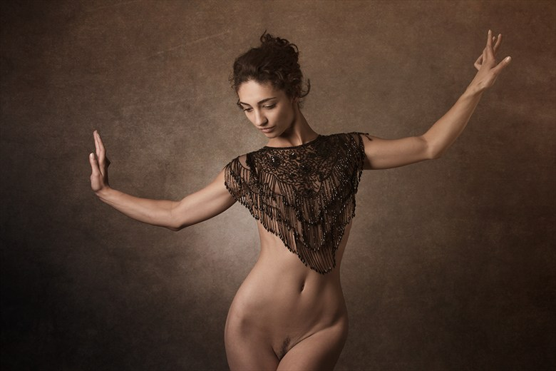 Autumnal Artistic Nude Photo by Photographer Mick Waghorne