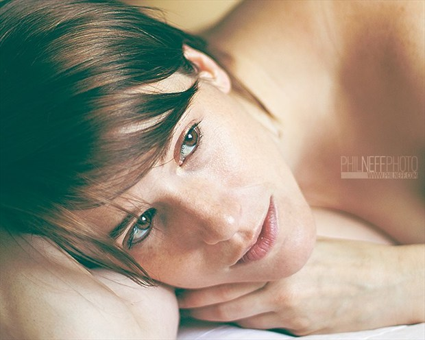 Awakened by Morning Light Sensual Photo by Model Tricia DeAnne