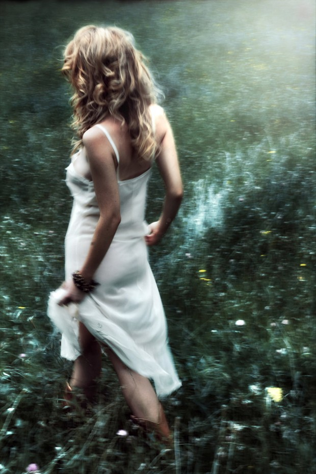 Away with the faeries Lingerie Artwork by Photographer Cathleen Tarawhiti