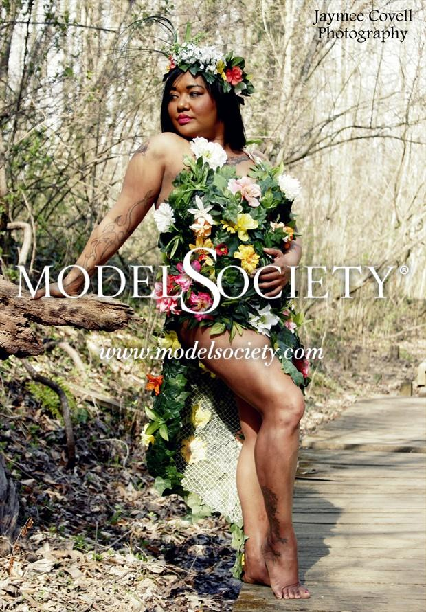 BEAUTY OF MOTHER NATURE 2 Tattoos Photo by Model Contonia Wright