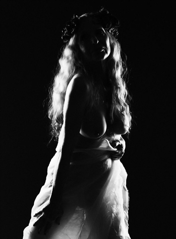 BLK ANDWHITE NUDE by JMP PHOTO 2017 Artistic Nude Photo by Model Christine Berl