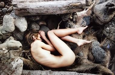 Baby Bird Artistic Nude Photo by Model California Kaela
