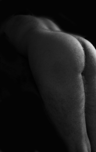 Back in Black.. and White Artistic Nude Photo by Model JR Photography