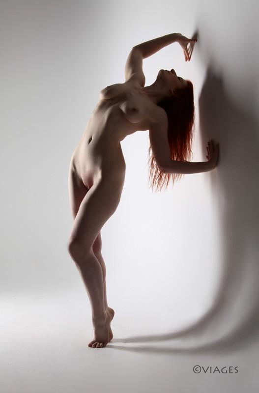 Backbend Artistic Nude Photo by Model Saedcantas