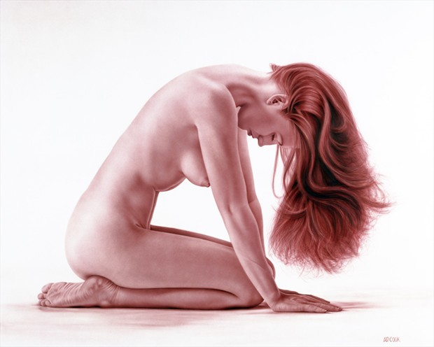 Backdraft Artistic Nude Artwork by Artist A.D. Cook