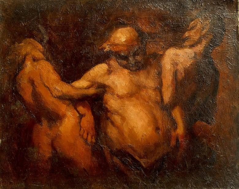 Bakus Artistic Nude Artwork by Artist Daniel