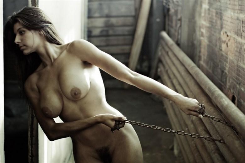Balance  Artistic Nude Photo by Model Ashley Salazar