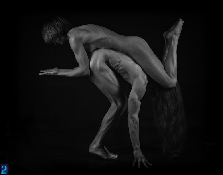 Balance Artistic Nude Artwork by Photographer Thom Peters Photog