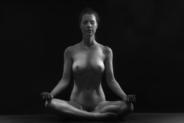 Balance Artistic Nude Photo by Model Joanna