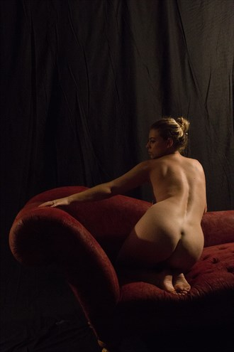 Balance Artistic Nude Photo by Model Riccella