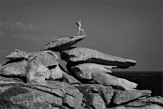 Balance of Life Artistic Nude Photo by Photographer Martin Zurm%C3%BChle