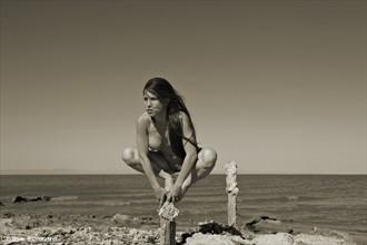 Balance of Will Artistic Nude Photo by Model Katz Pajamaz