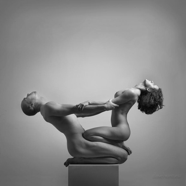 Balanced Artistic Nude Photo by Photographer Dave Hunt