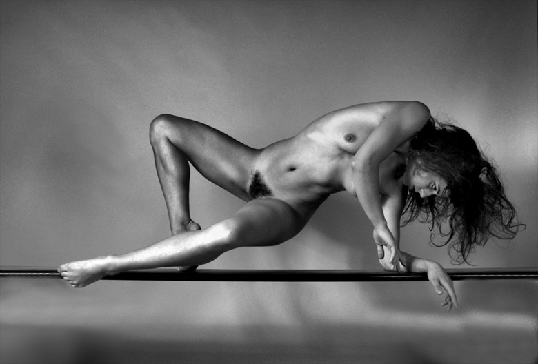 Balanced on a platform Artistic Nude Photo by Photographer pblieden