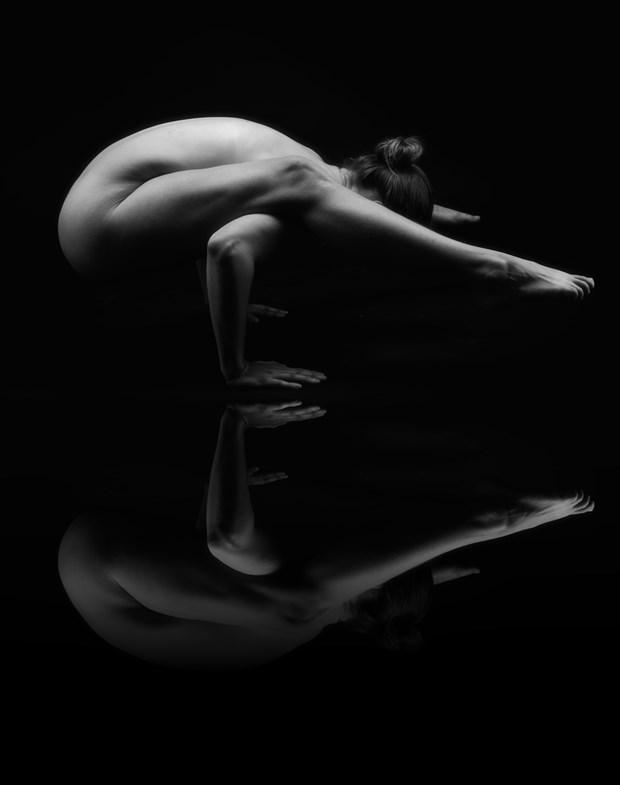 Balancing Act Artistic Nude Photo by Photographer Bill Dahl