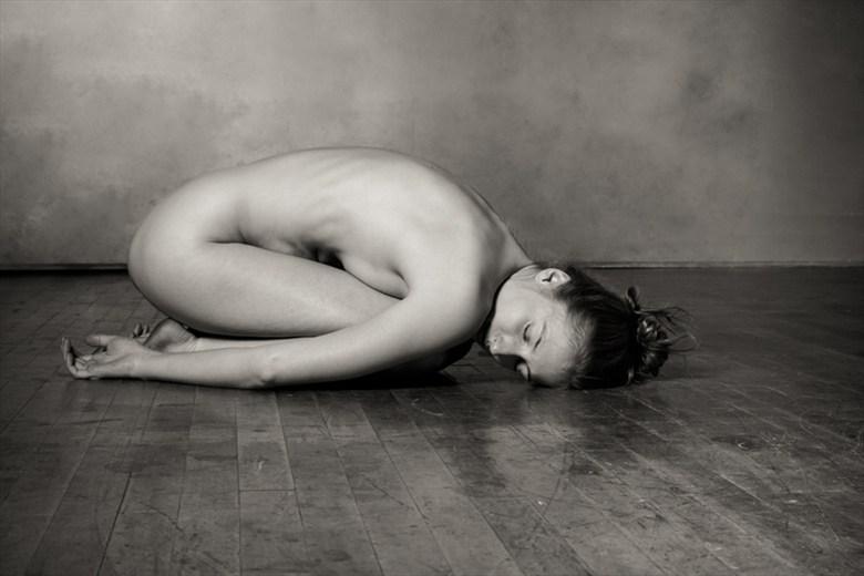 Balasana Artistic Nude Photo by Model Eleanor Kathryn