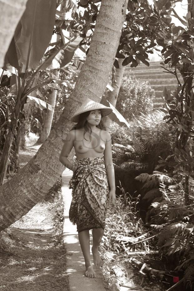Bali 14 Artistic Nude Artwork by Photographer Patrice Delmotte