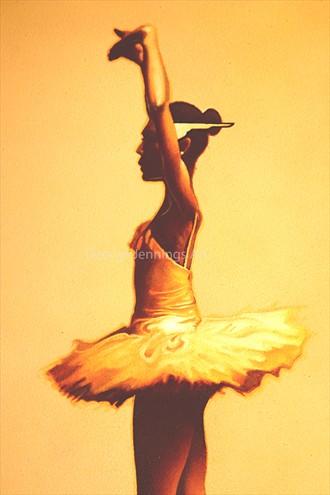 Ballerina (Detail) Glamour Artwork by Artist jart64