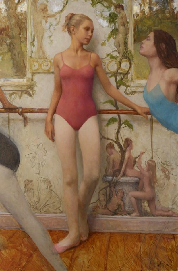 Ballet Room Painting or Drawing Artwork by Artist Matthew Joseph Peak