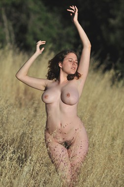 Ballet of the Summer Grass Artistic Nude Photo by Photographer Alan H Bruce
