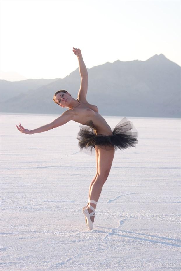 Ballet on the Salt Flats %233 Artistic Nude Photo by Photographer artistrefuge
