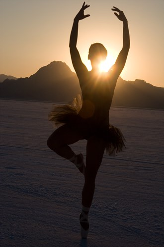 Ballet on the Salt Flats %234 Artistic Nude Photo by Photographer artistrefuge