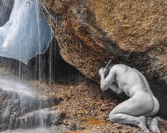 Baptism by Ice Artistic Nude Photo by Photographer Figurative Arc