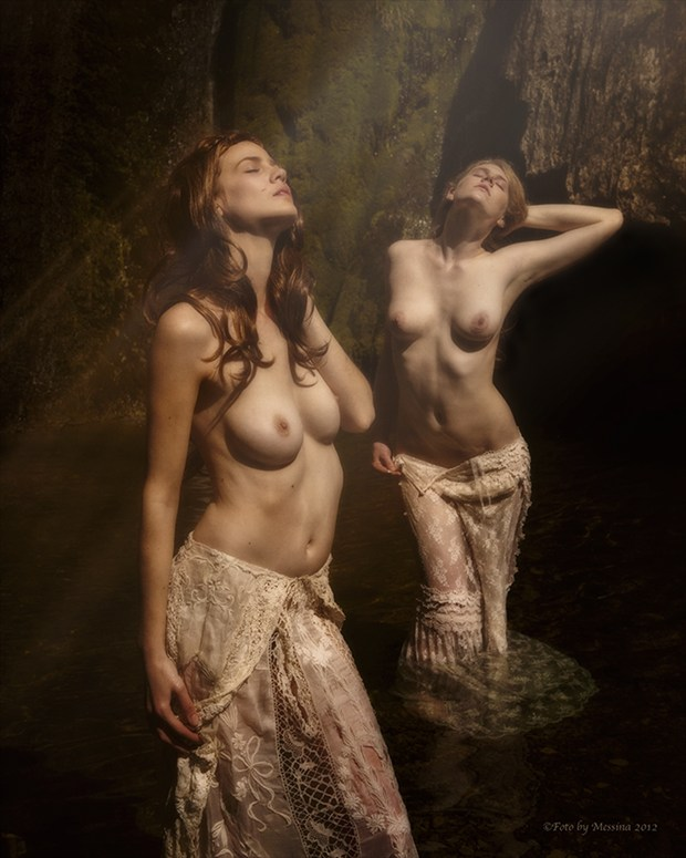 Baptism by Light Artistic Nude Photo by Photographer CalidaVision