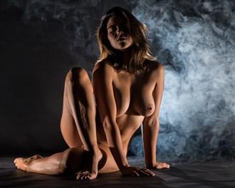 Bare Artistic Nude Photo by Model Charlotte Dell'Acqua