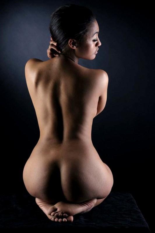 Bare back nude