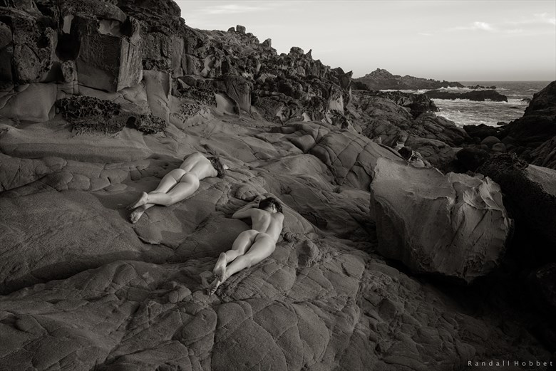 Basking Selkies Artistic Nude Photo by Photographer Randall Hobbet