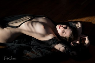 Basking in the sensual Artistic Nude Photo by Photographer Effi Amouris
