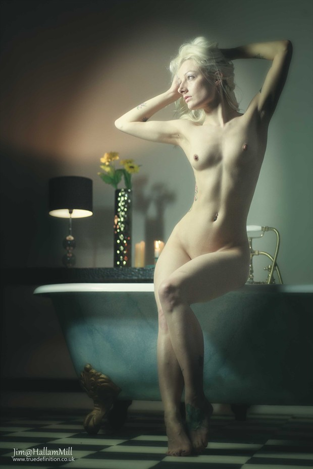 Bath Time Artistic Nude Photo by Photographer jimathallammill