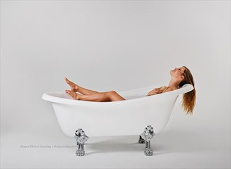 Bathtub Relaxing Studio Lighting Photo by Photographer anguschristopher