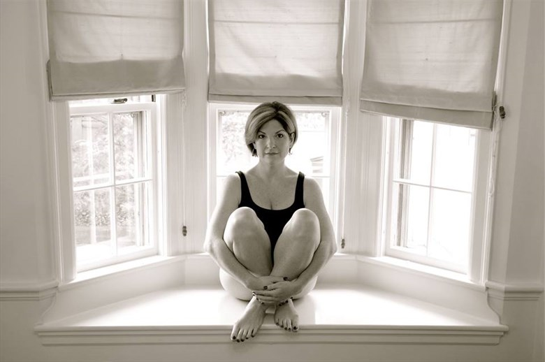 Bay Window Portrait Photo by Model JustAlice