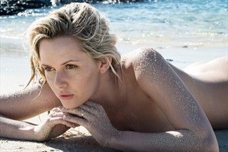Beach Nature Photo by Model Carla Monaco