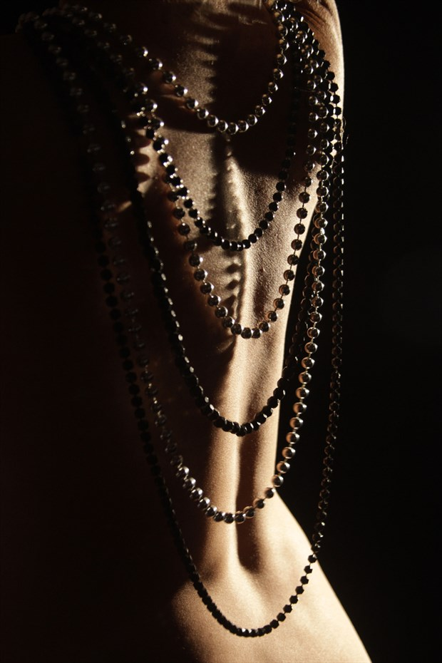 Beads and back Abstract Photo by Photographer Markg
