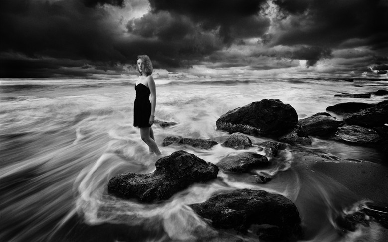 Beatrice and excitedly Black sea Fantasy Artwork by Photographer Gospodin