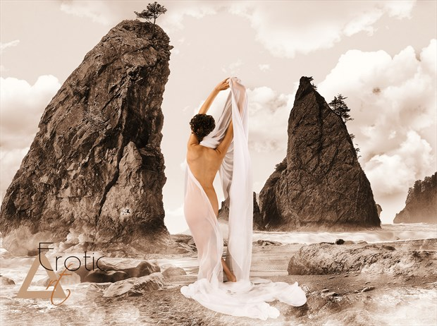 Beautiful Carla at Cannon Beach Nature Photo by Photographer ArtErotic