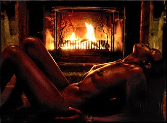 Beautiful Flames Artistic Nude Photo by Photographer Photorunner