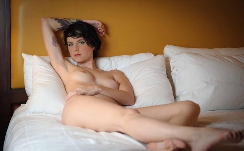 Beautiful Innocence  Artistic Nude Photo by Model Monica Elizabeth
