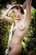 Beautiful Nymph at Lowland Falls Artistic Nude Photo by Photographer G A Photography